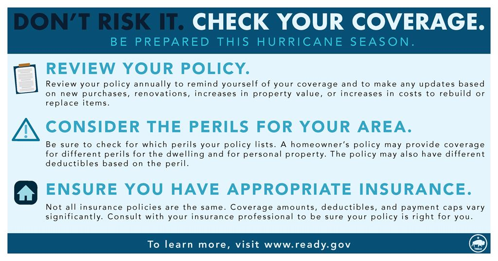 Don't Risk It. Check Your Homeowner Insurance!